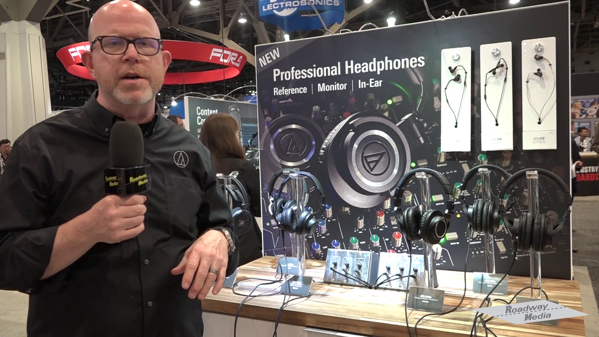 Season 4 Episode 9<br />Clip Audio Technica NAB2018